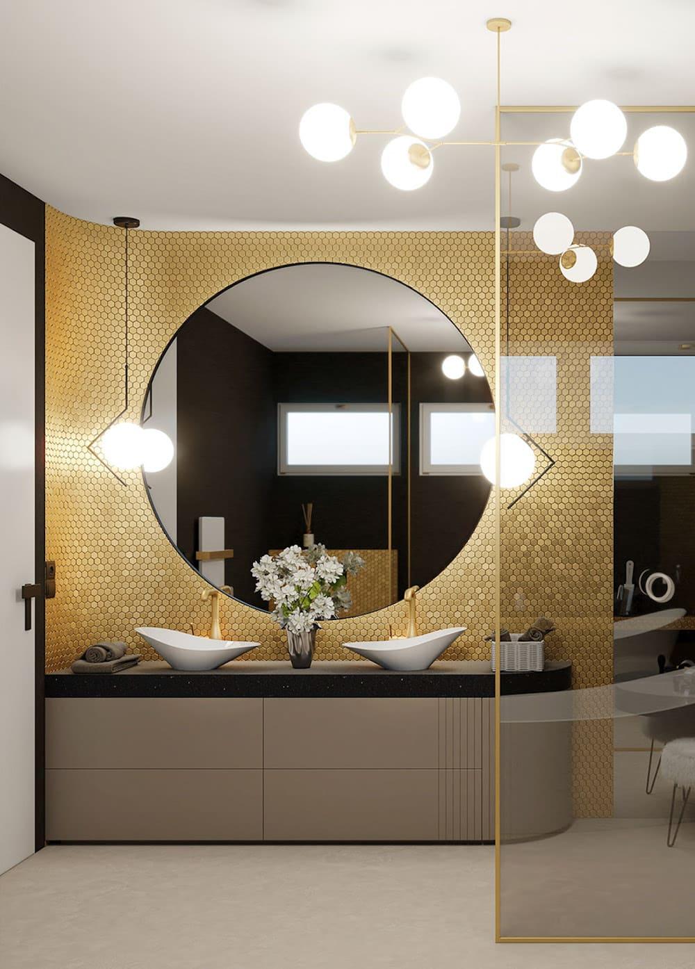 дизайн маленькой ванной фото 51