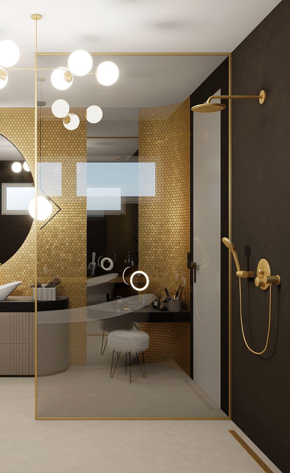 дизайн маленькой ванной фото 52