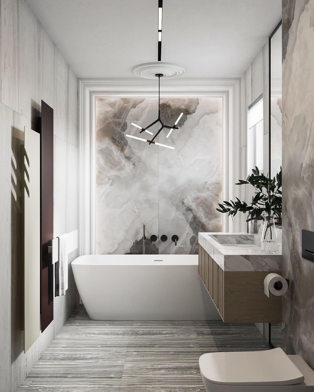 дизайн маленькой ванной фото 47