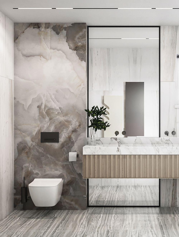 дизайн маленькой ванной фото 48