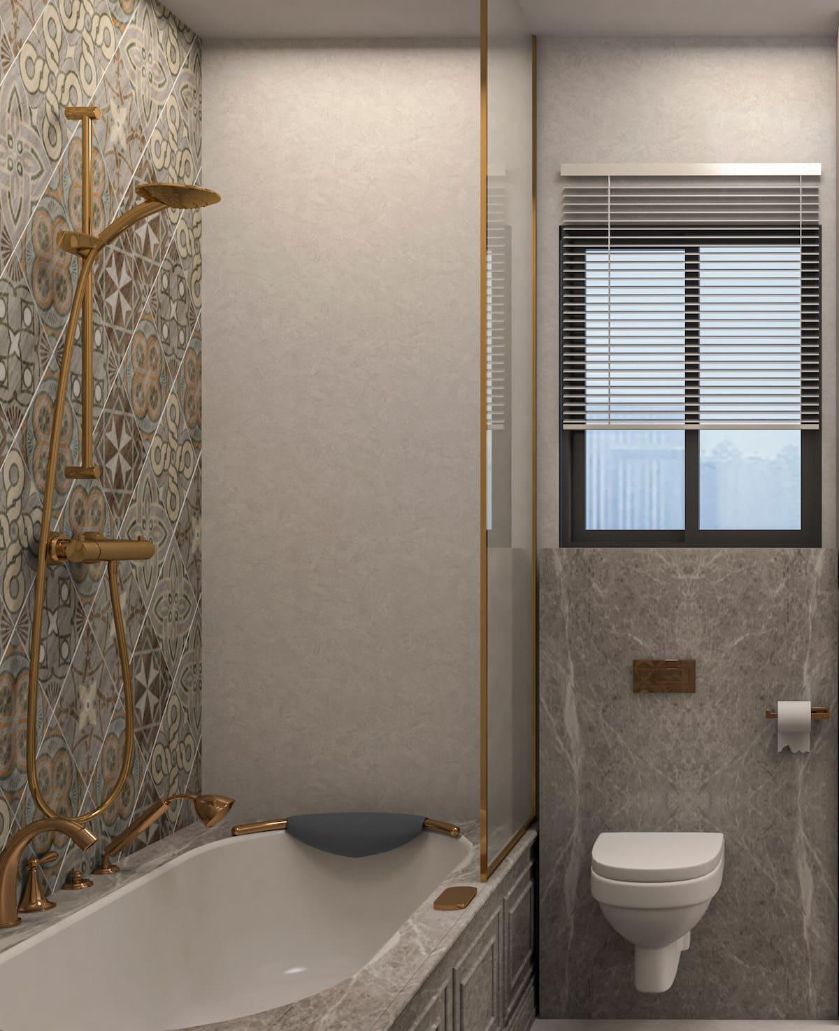 дизайн маленькой ванной фото 65