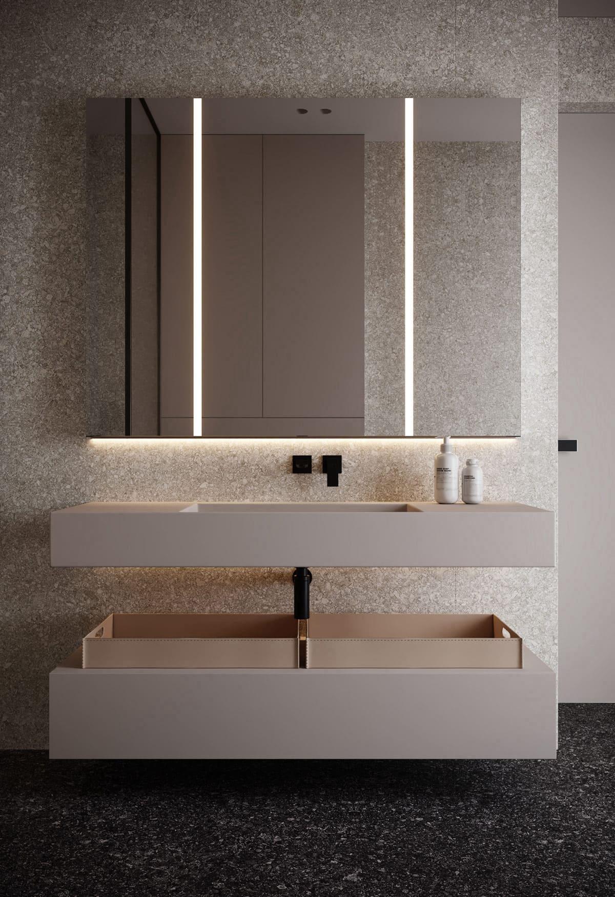 дизайн маленькой ванной фото 67