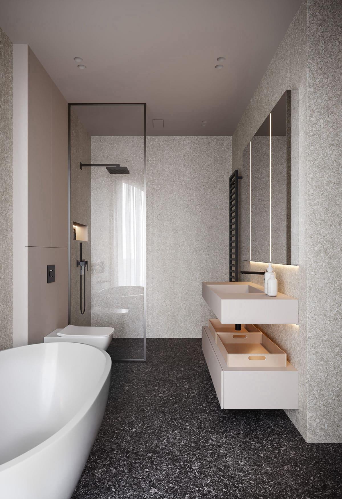 дизайн маленькой ванной фото 68