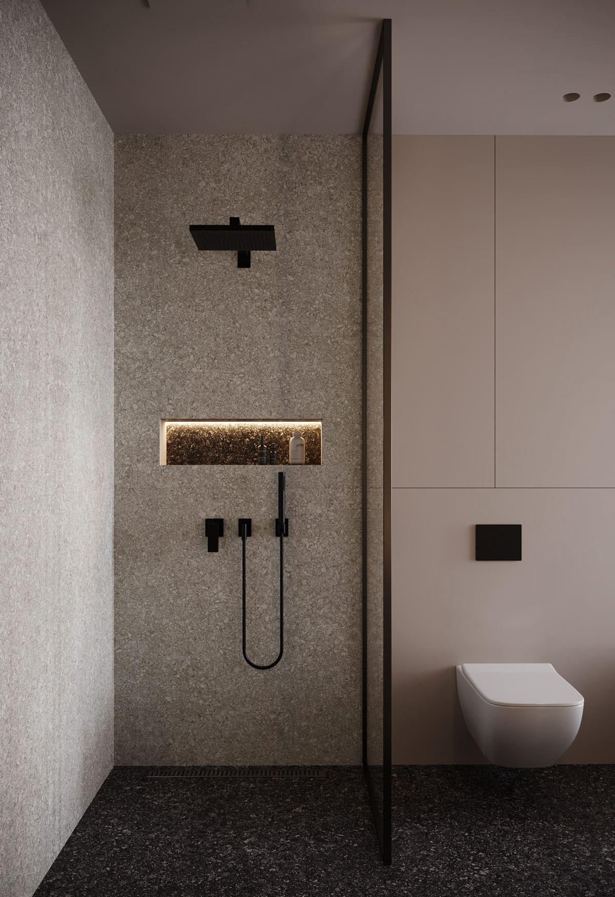 дизайн маленькой ванной фото 69