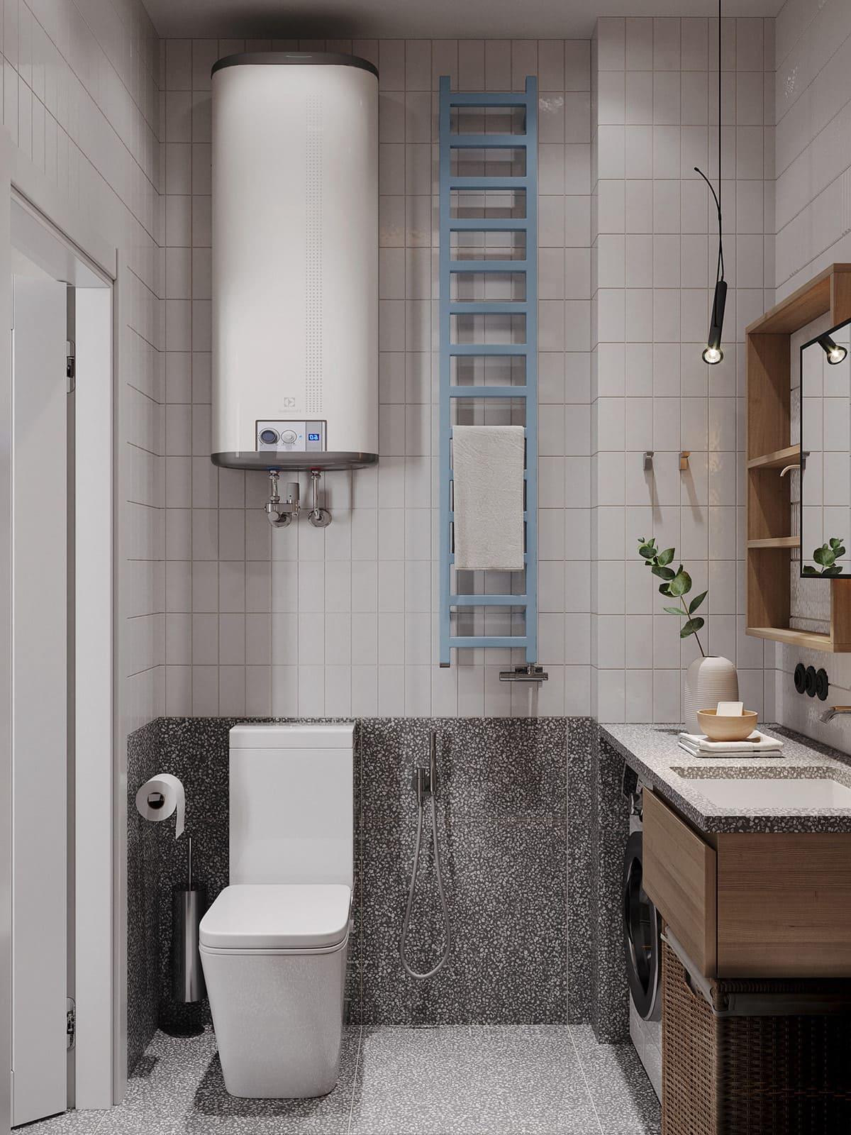 дизайн маленькой ванной фото 76