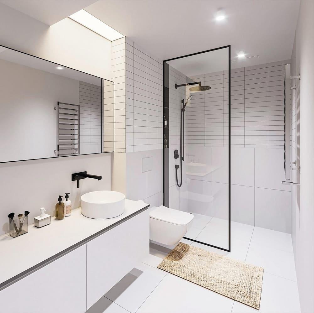дизайн маленькой ванной фото 38