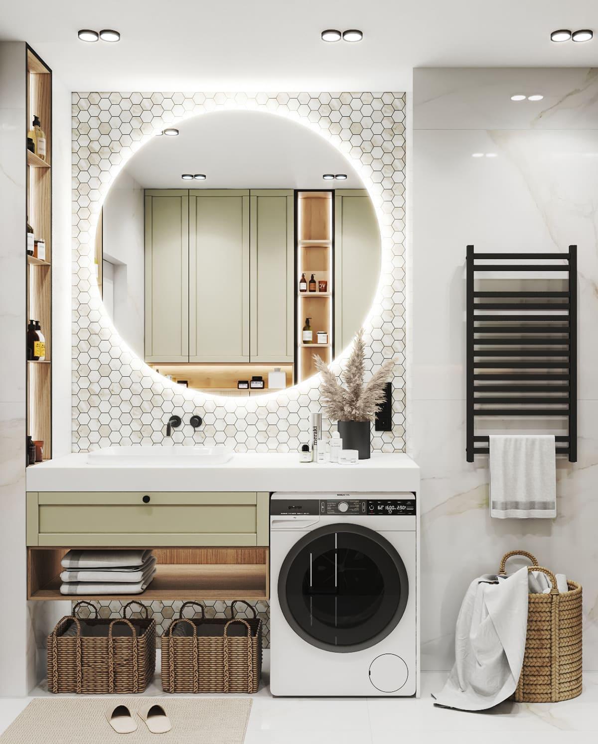 дизайн маленькой ванной фото 1