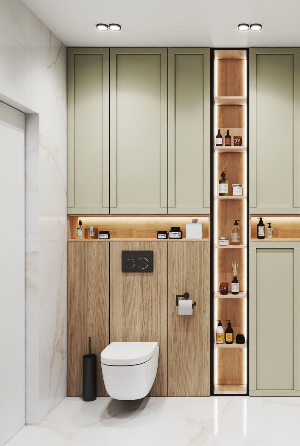 дизайн маленькой ванной фото 3