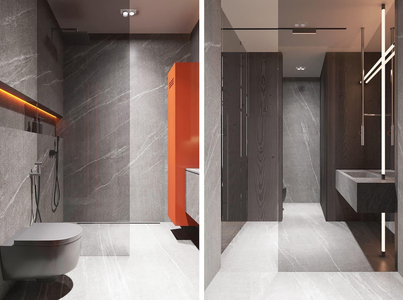 дизайн маленькой ванной фото 33