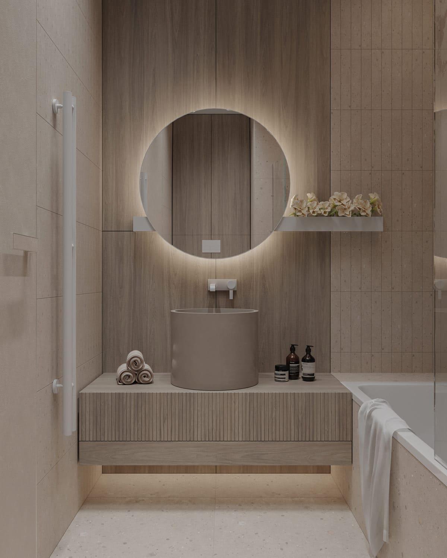 дизайн маленькой ванной фото 54