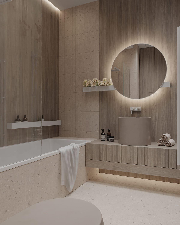 дизайн маленькой ванной фото 55