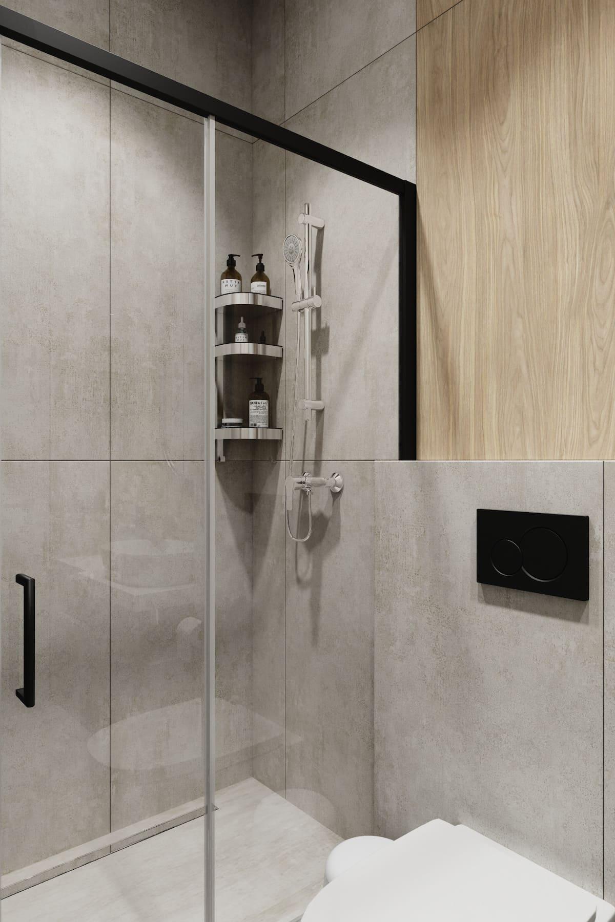 дизайн маленькой ванной фото 82