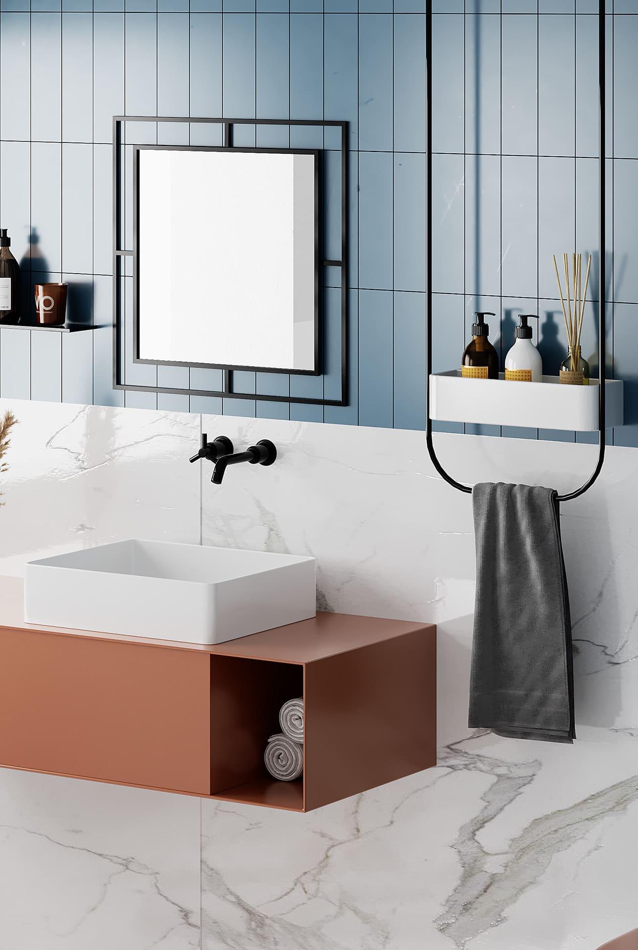 дизайн маленькой ванной фото 83