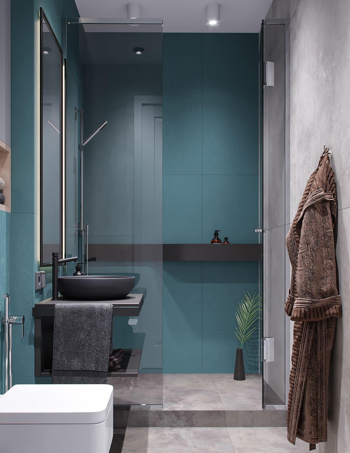 дизайн маленькой ванной фото 62