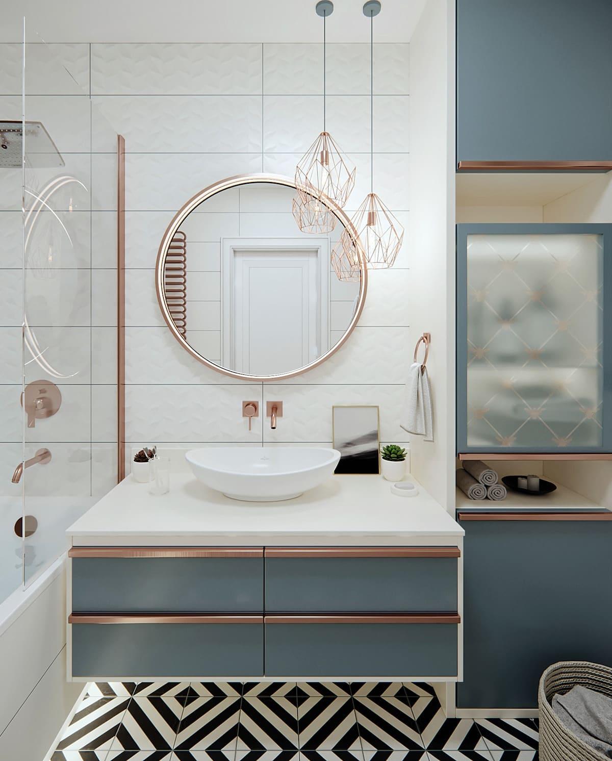 дизайн маленькой ванной фото 4