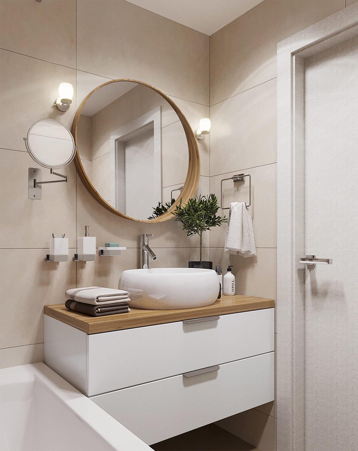 дизайн маленькой ванной фото 92