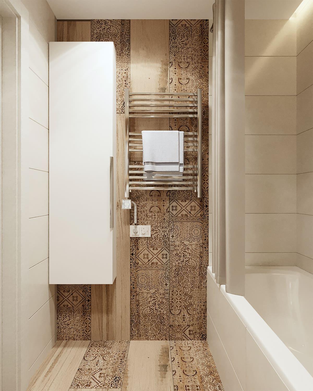 дизайн маленькой ванной фото 94