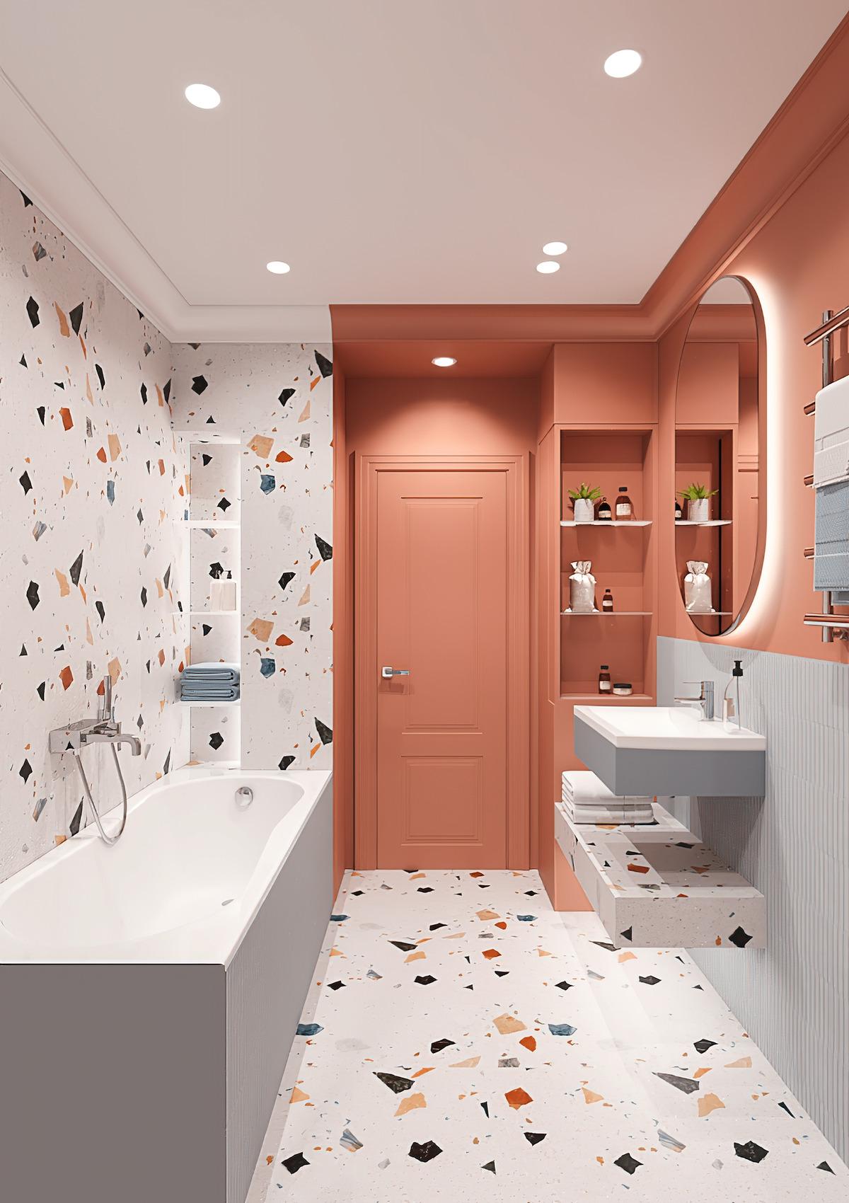 дизайн маленькой ванной фото 89