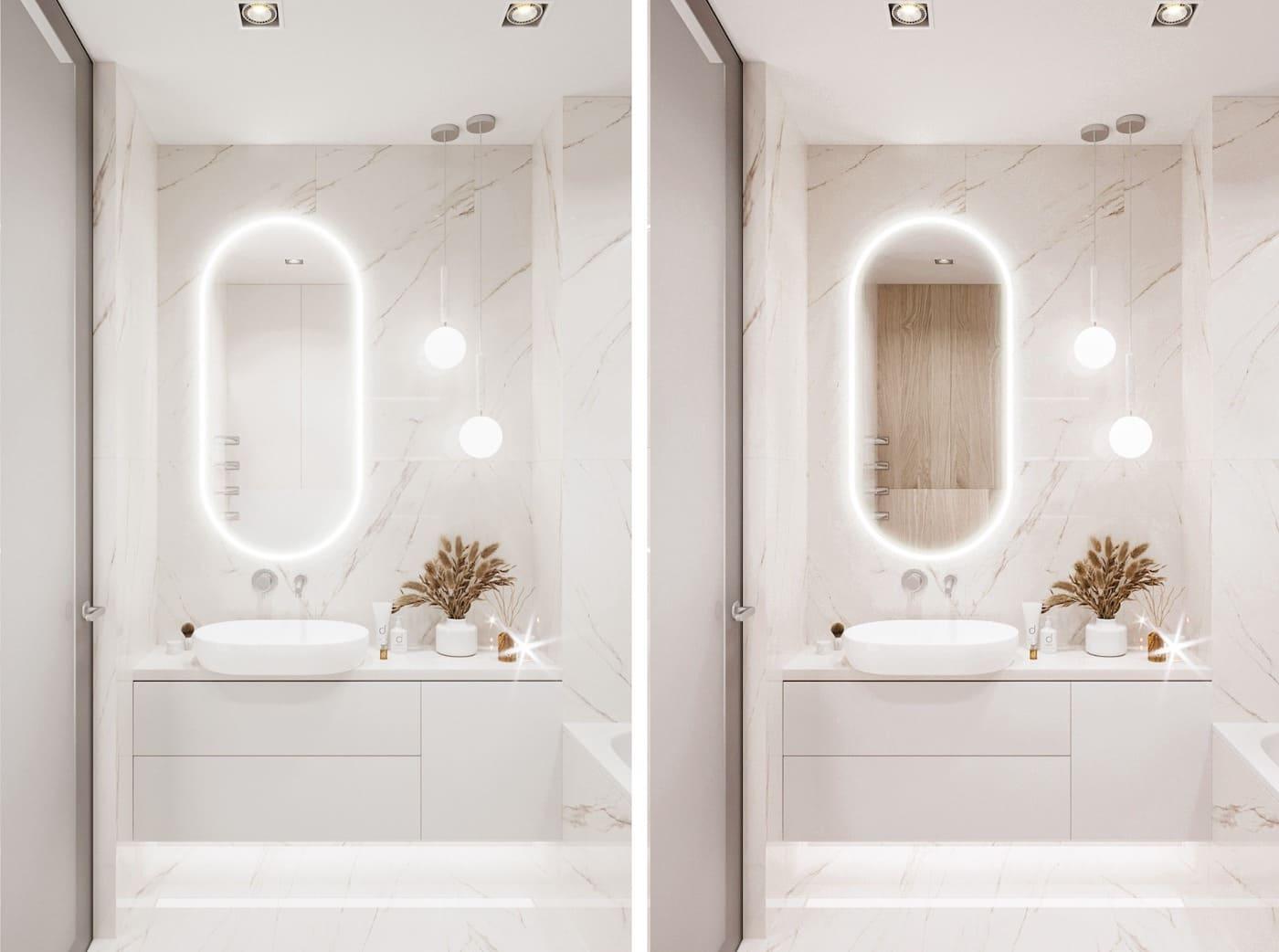 дизайн маленькой ванной фото 97