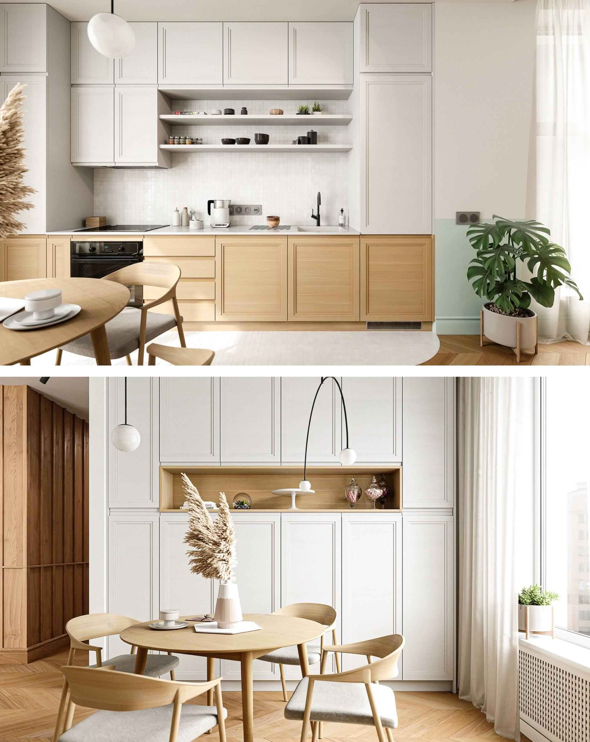 белая кухня фото 49