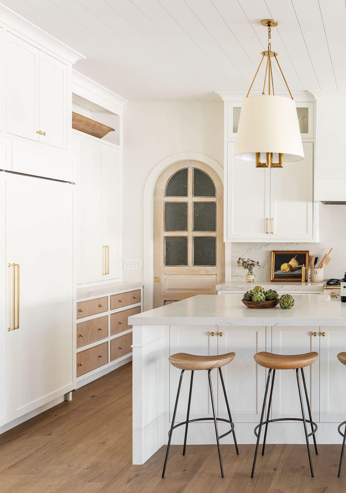 белая кухня фото 3