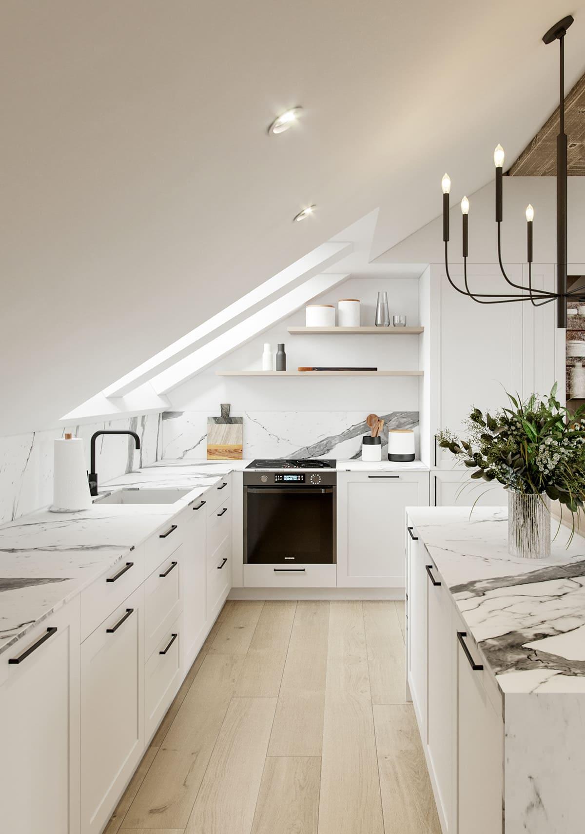 белая кухня фото 18