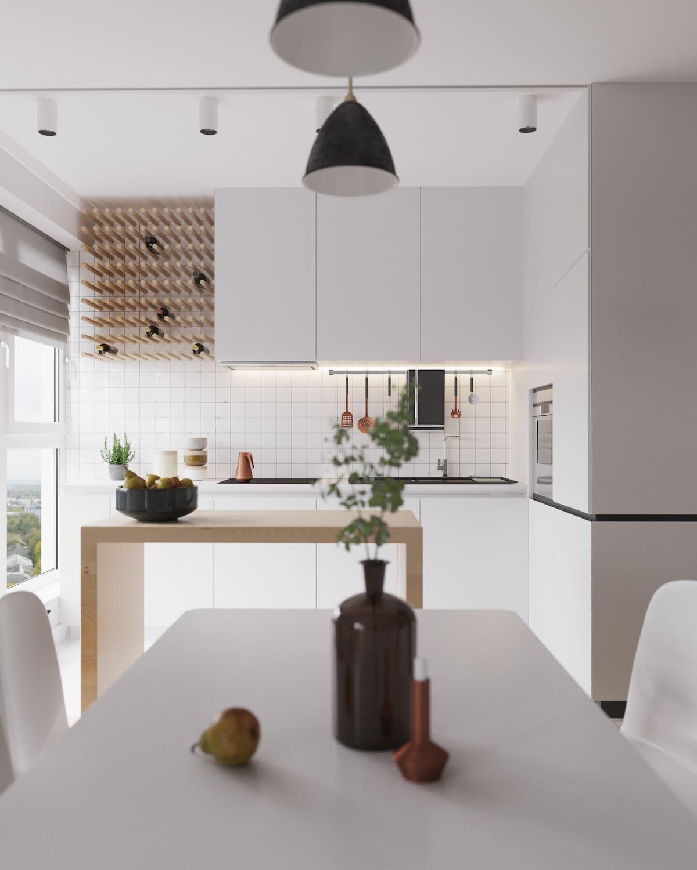 белая кухня фото 31