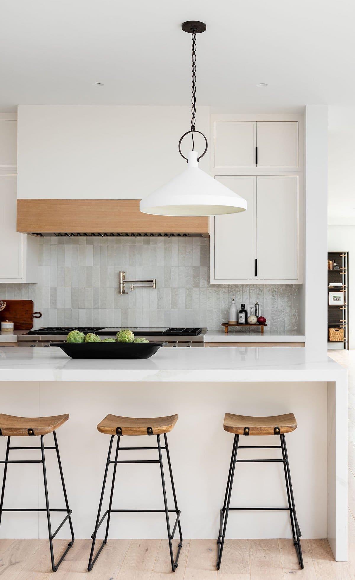белая кухня фото 9