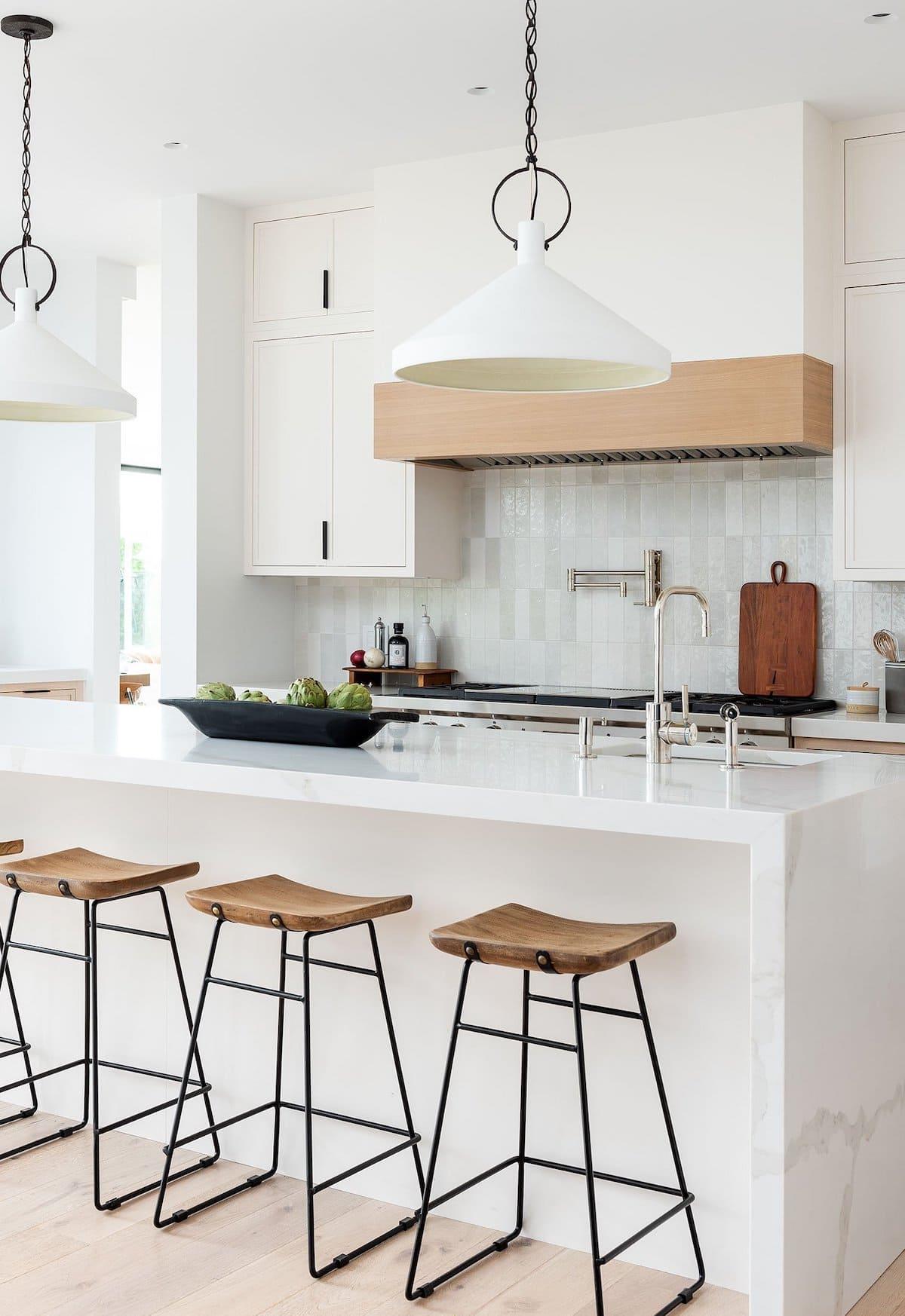 белая кухня фото 10