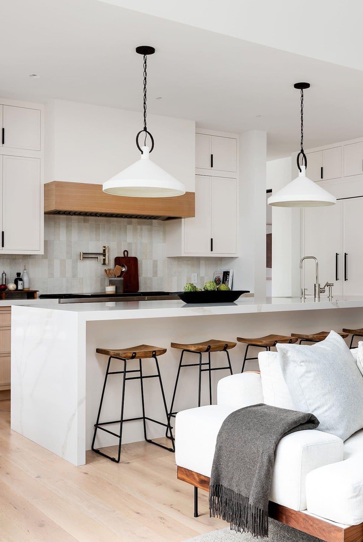 белая кухня фото 12