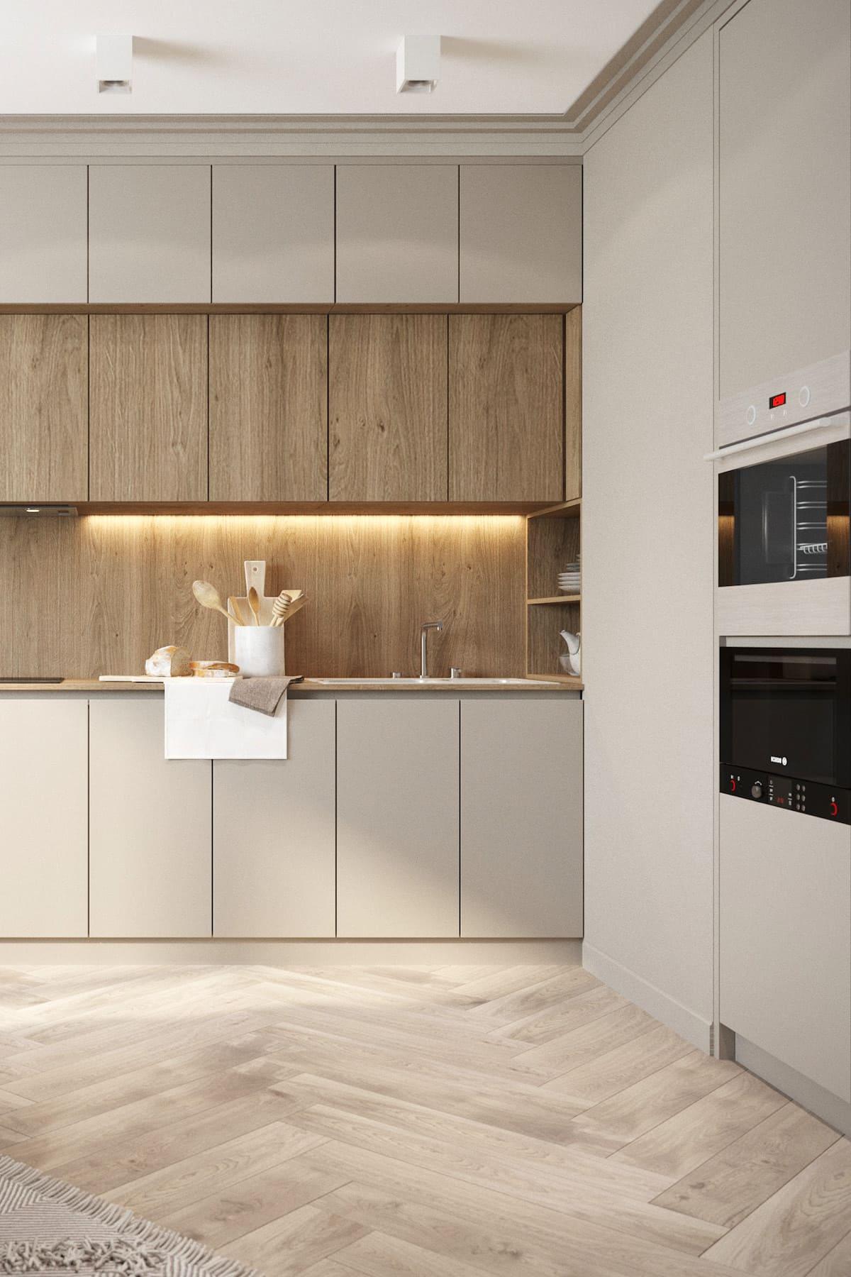 белая кухня фото 28