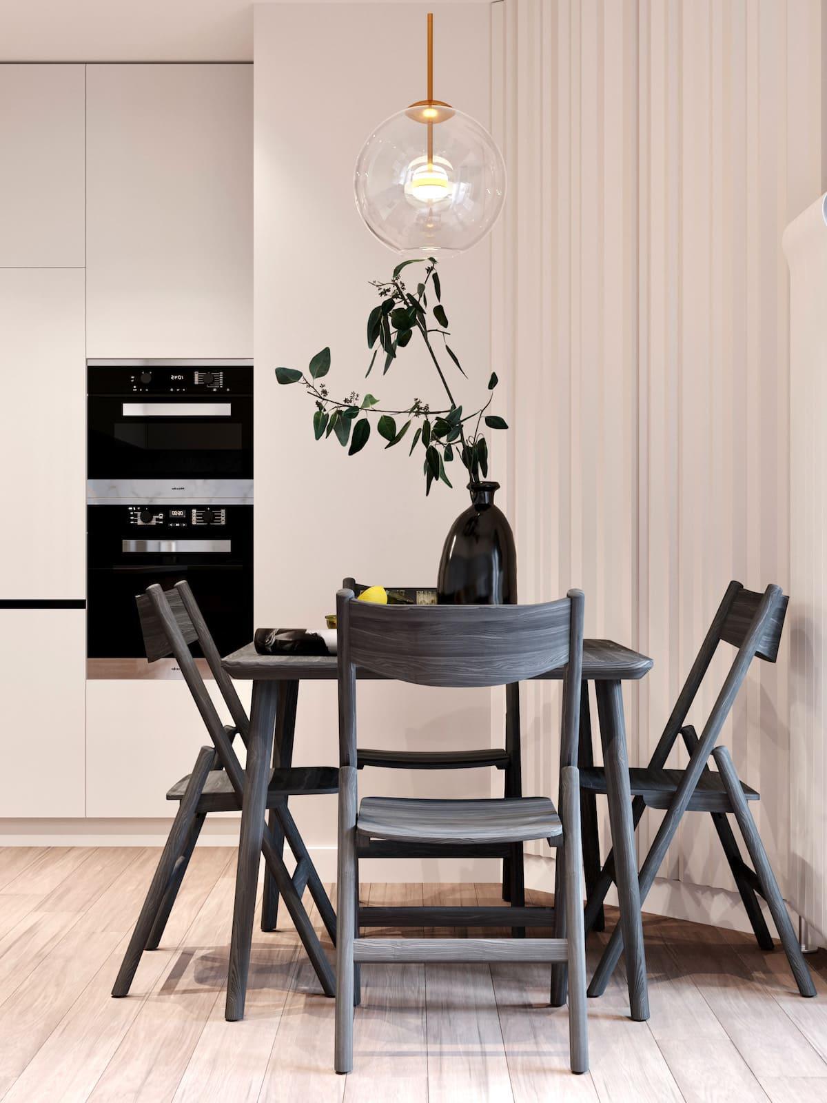 белая кухня фото 33