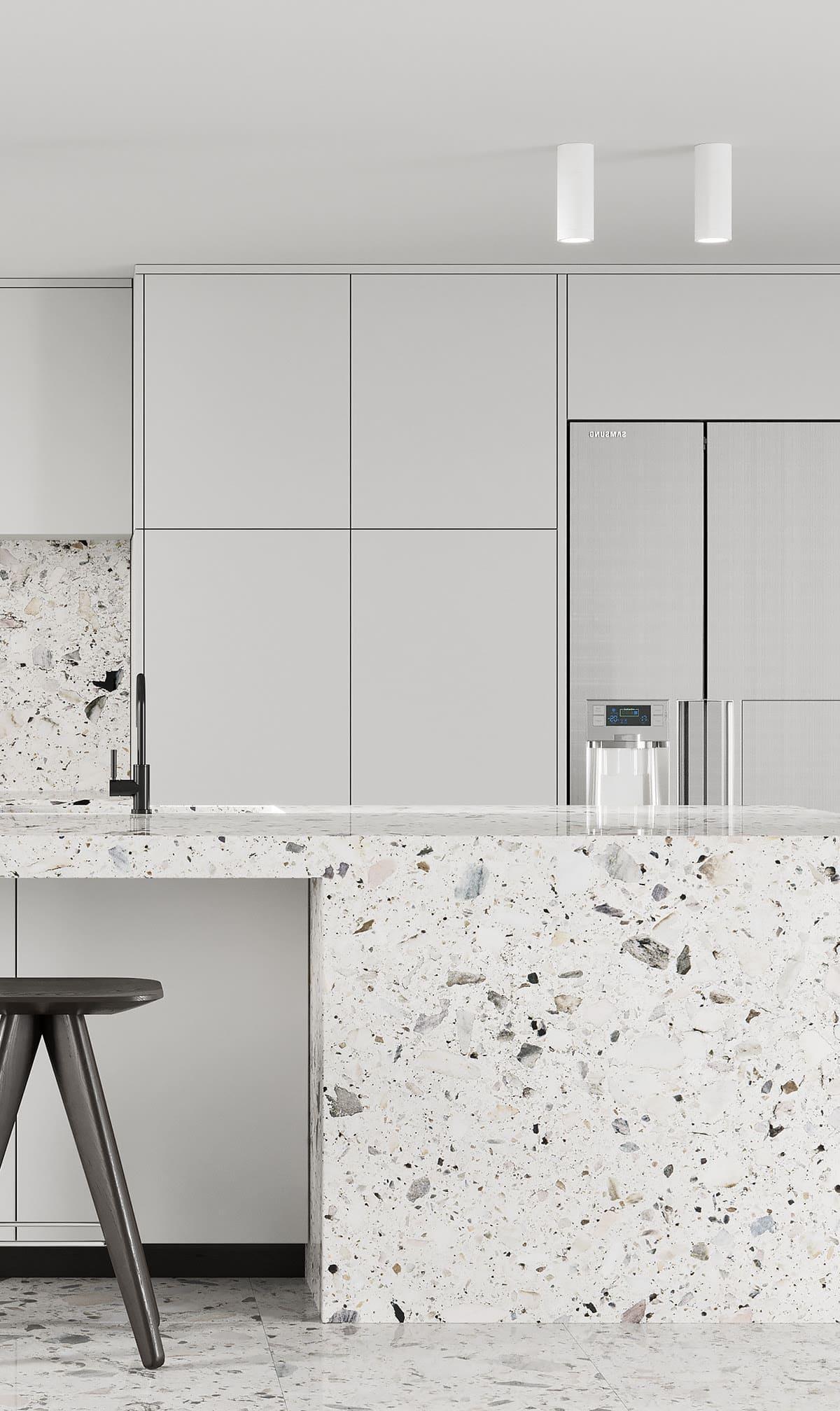 белая кухня фото 24