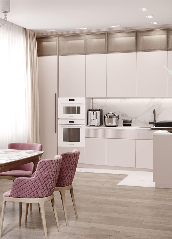 белая кухня фото 36