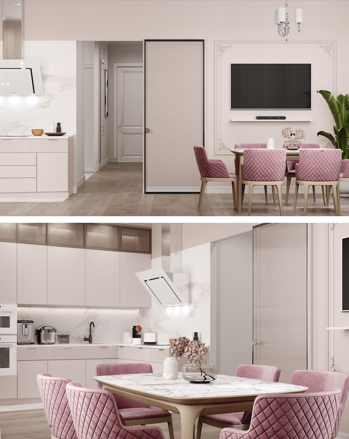 белая кухня фото 37