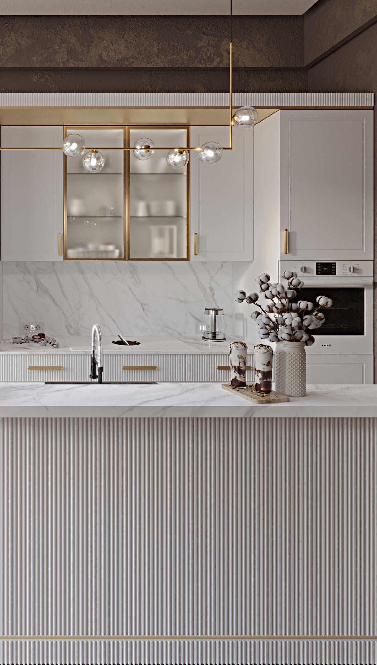 белая кухня фото 50