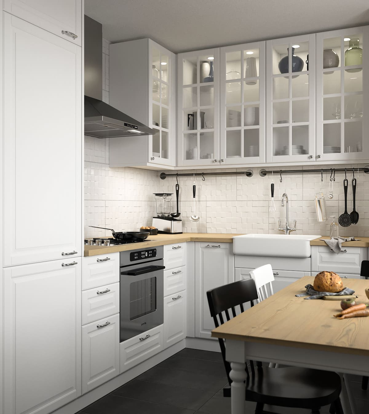 белая кухня фото 63