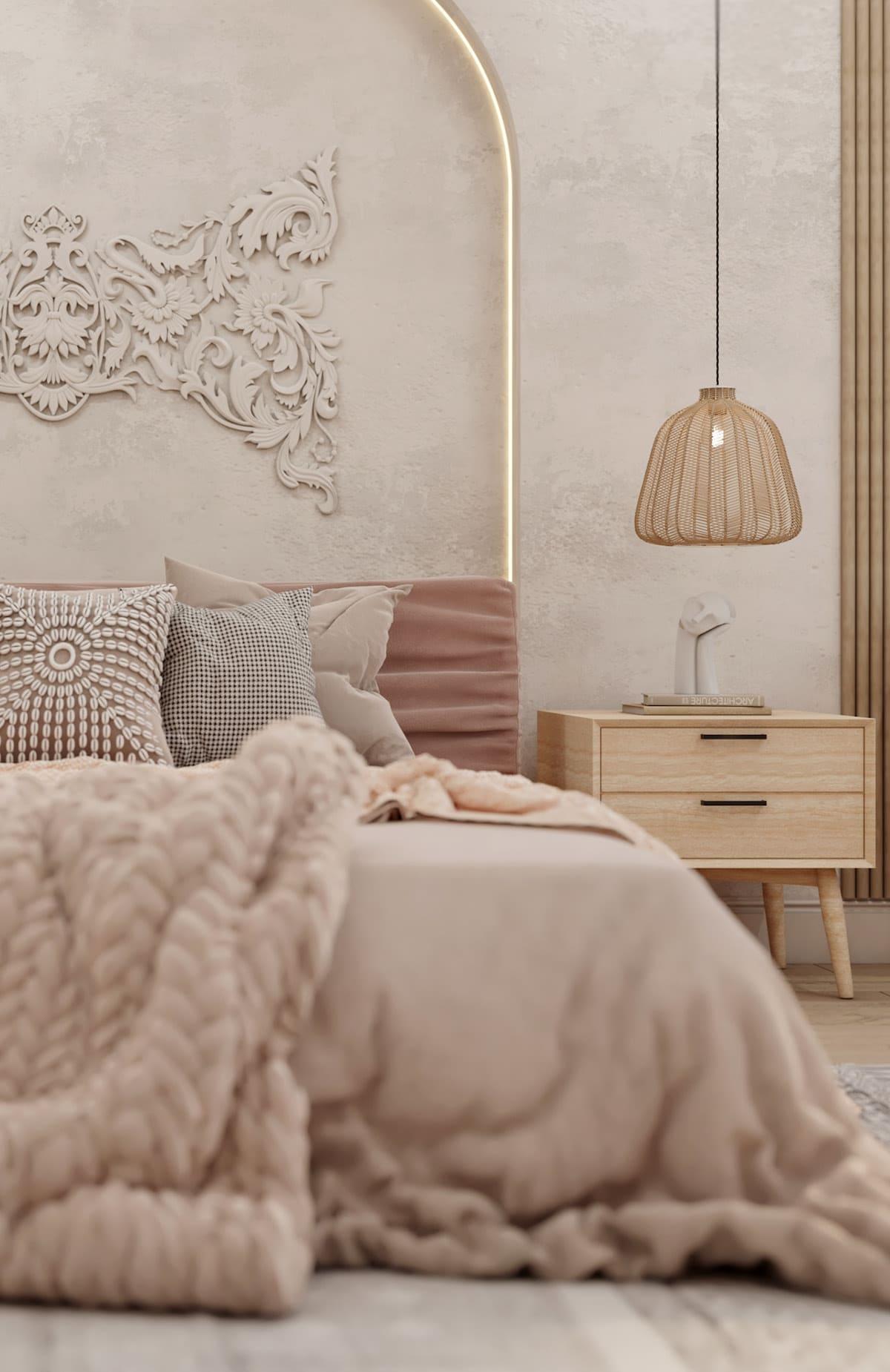 спальня в современном стиле фото 1