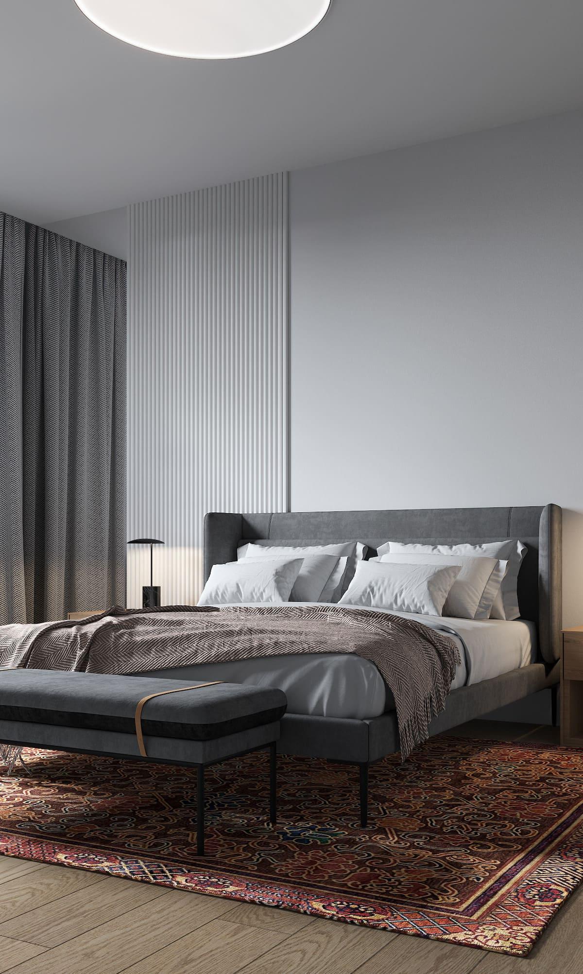 спальня в современном стиле фото 15