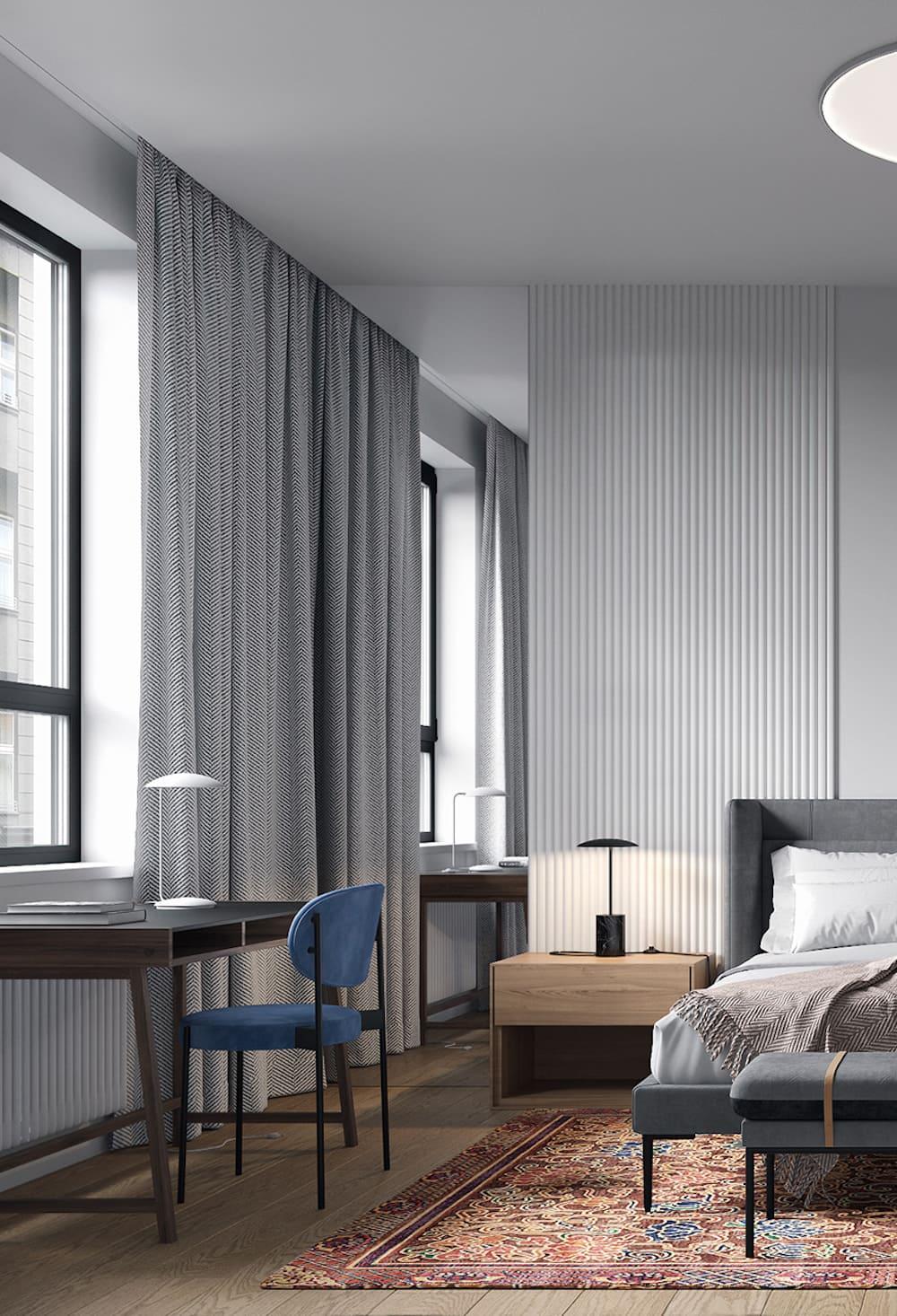 спальня в современном стиле фото 16