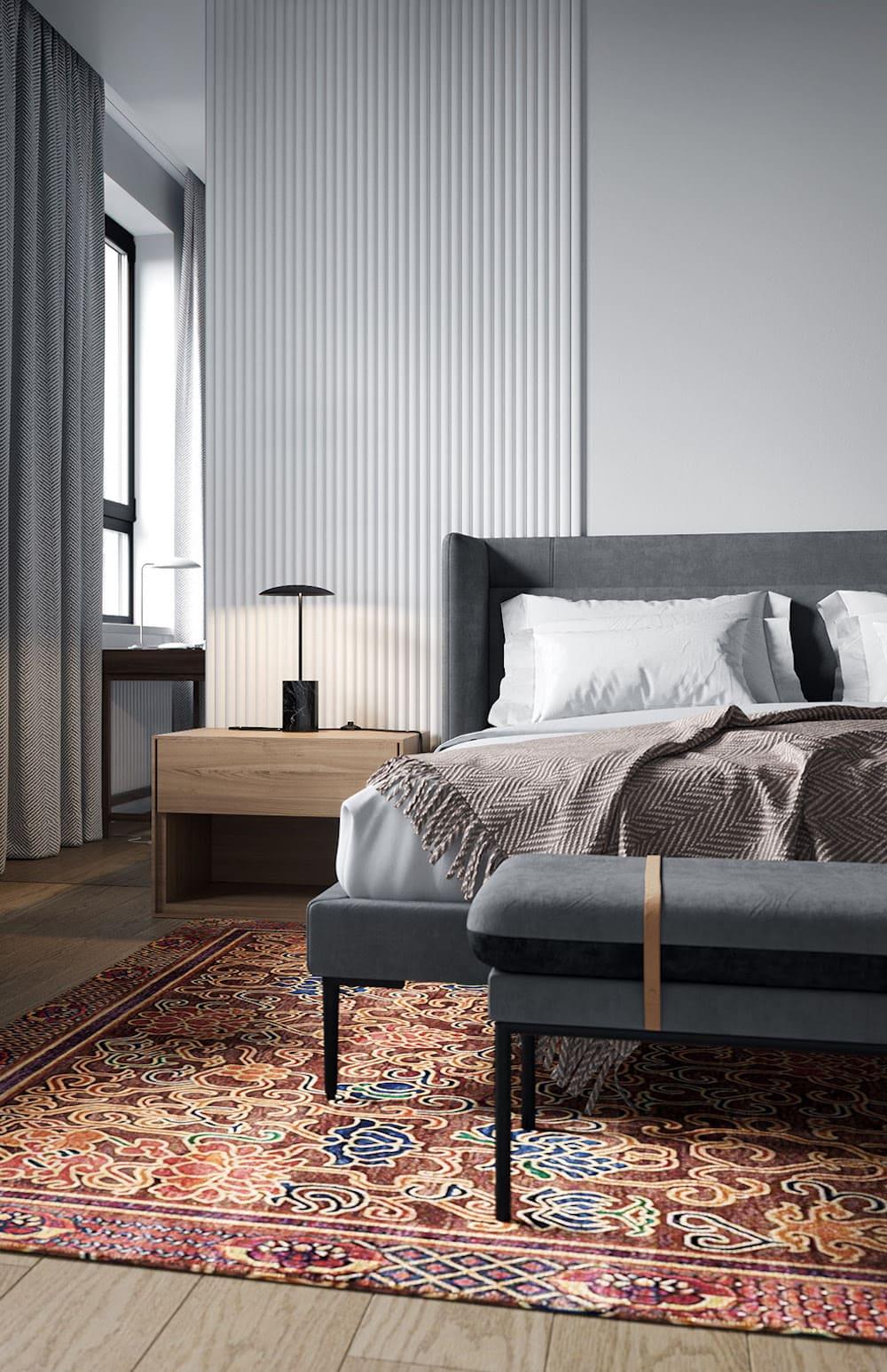спальня в современном стиле фото 17