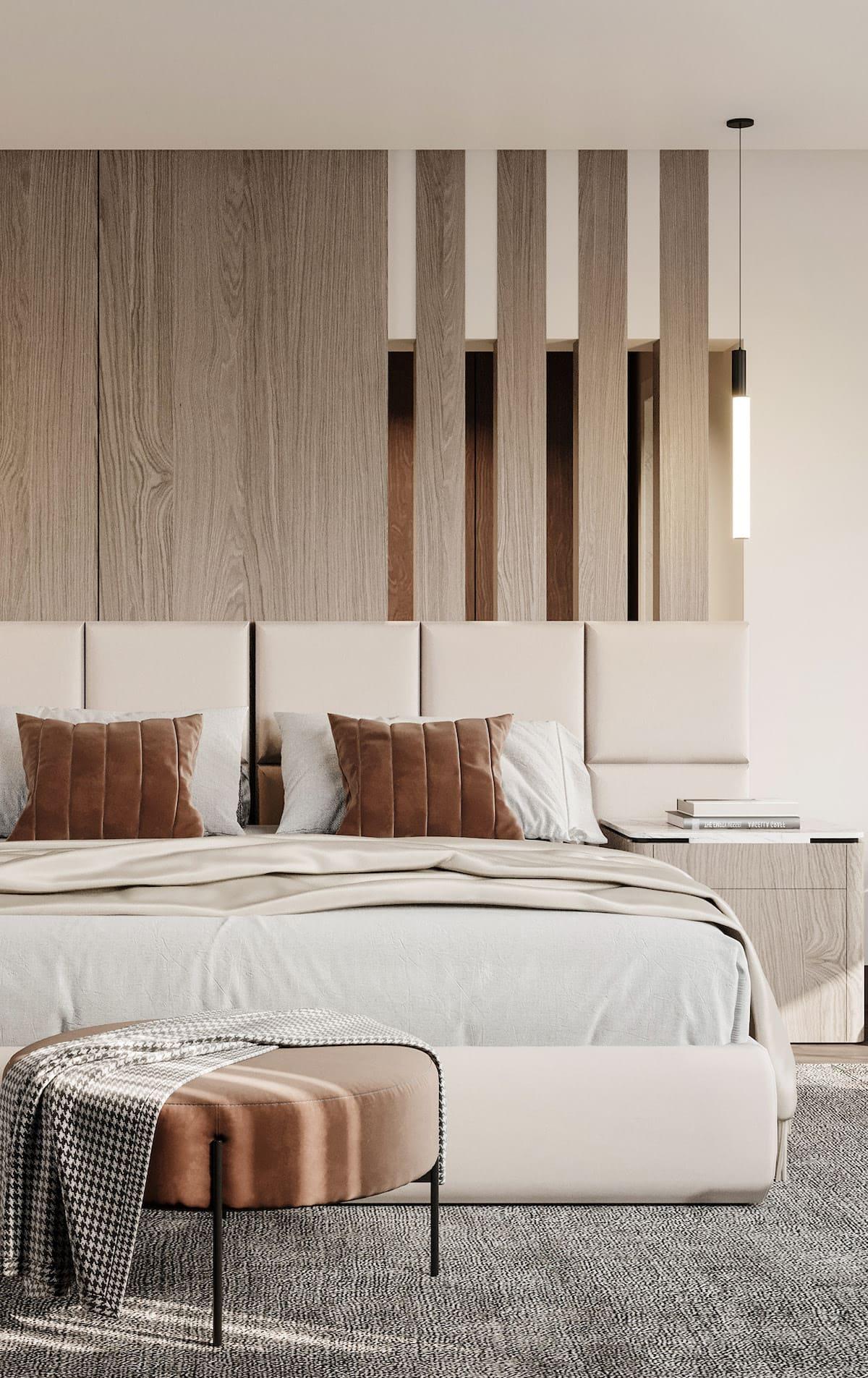 спальня в современном стиле фото 44