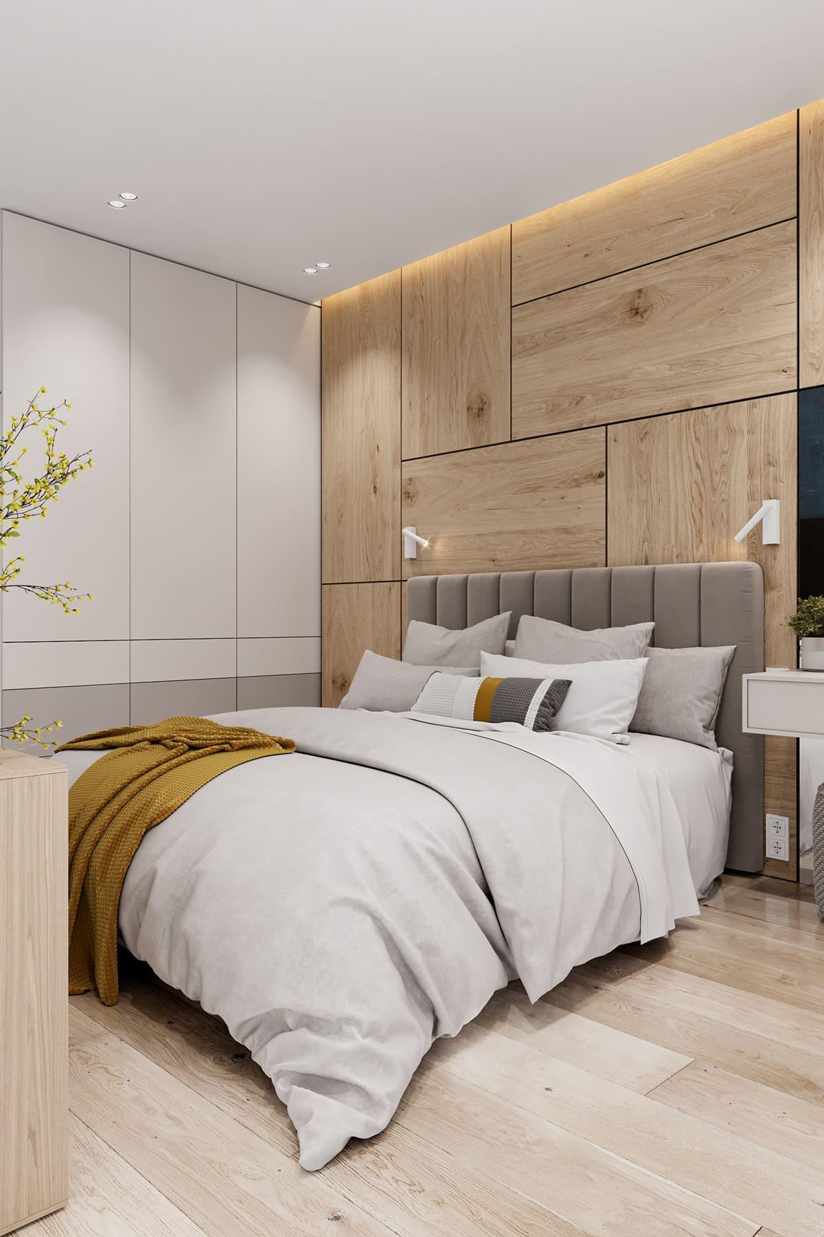 спальня в современном стиле фото 35