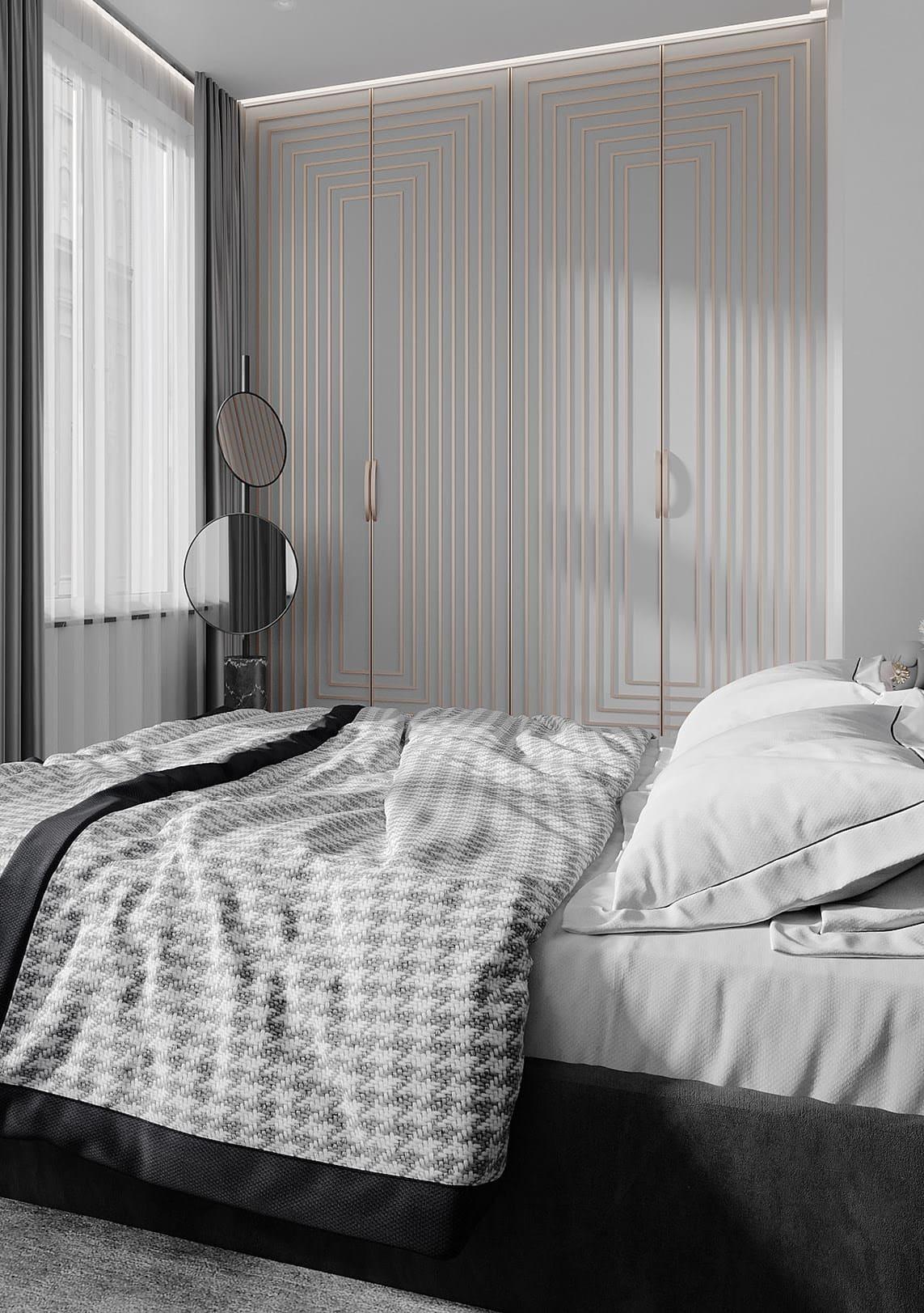 спальня в современном стиле фото 67