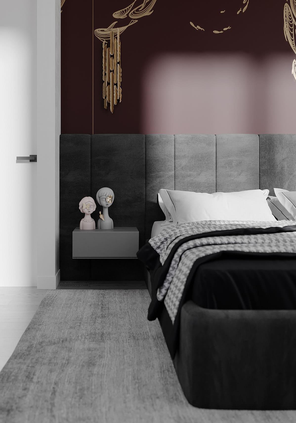 спальня в современном стиле фото 68