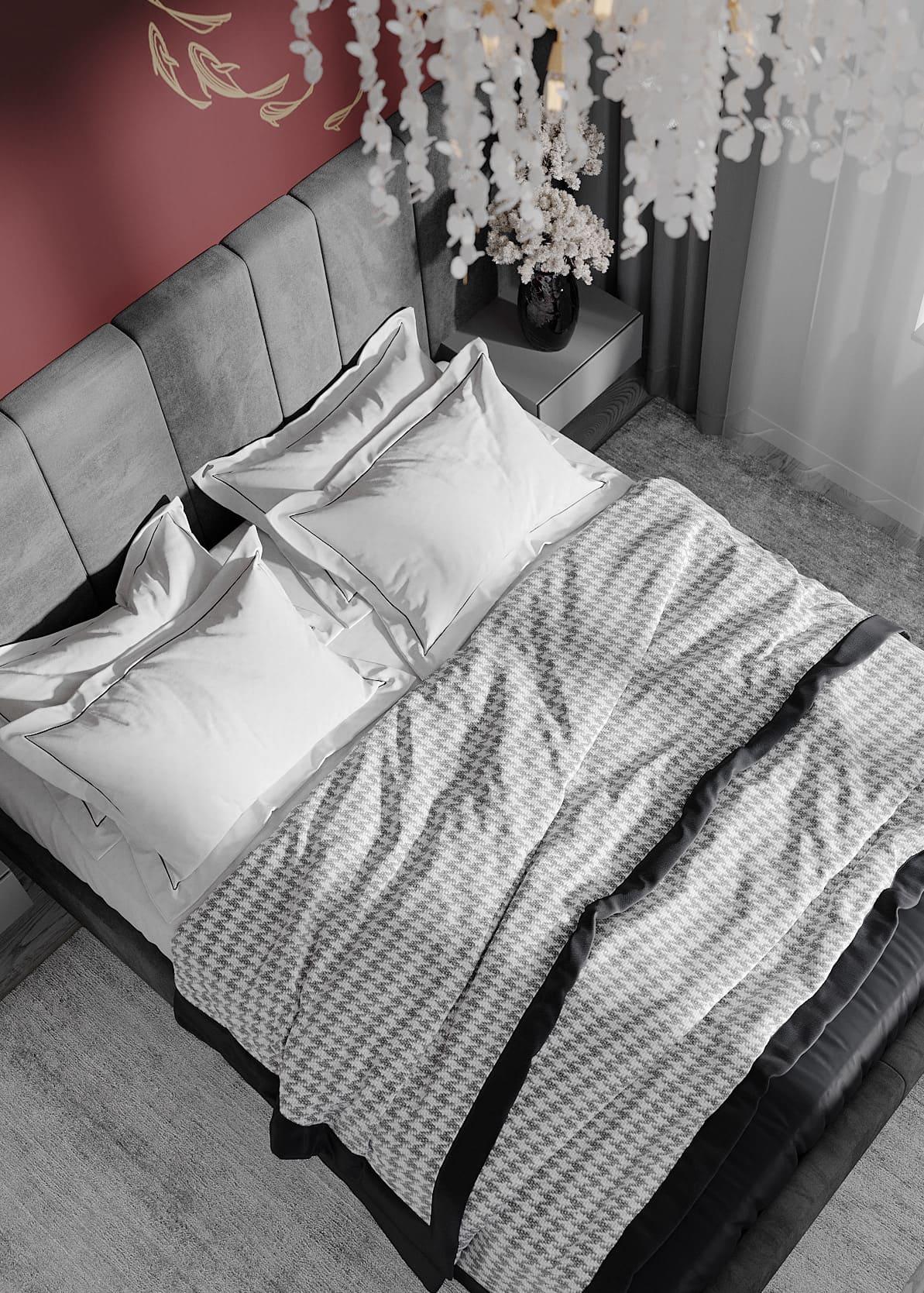 спальня в современном стиле фото 69