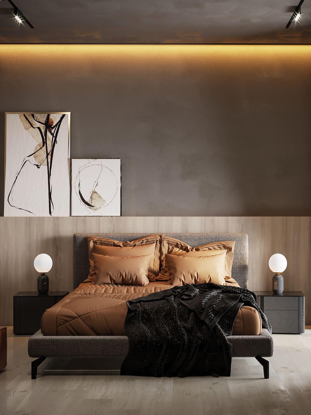 спальня в современном стиле фото 4