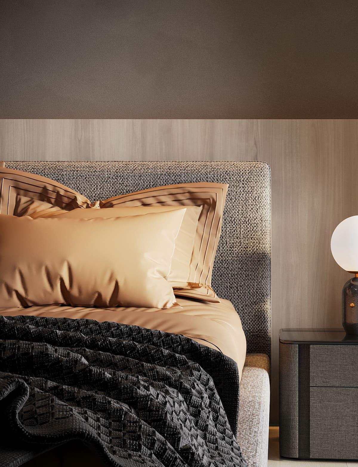 спальня в современном стиле фото 7