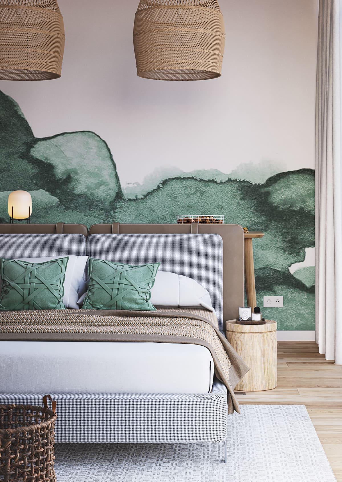 спальня в современном стиле фото 90