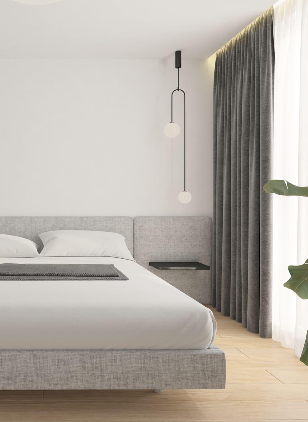 спальня в современном стиле фото 88